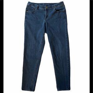 Lane Bryant Genius Fit Skinny Jeans